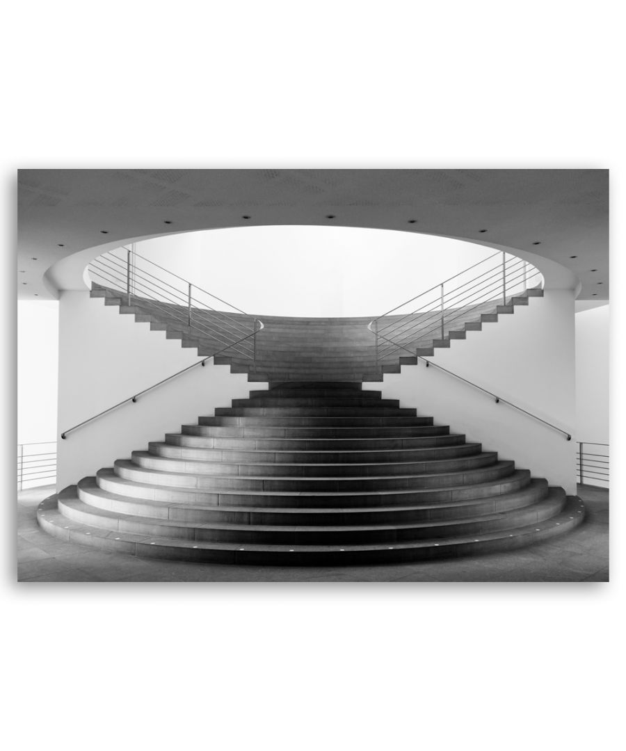 Image for Canvas Print - Hourglass Stairs - Wall Art Decor