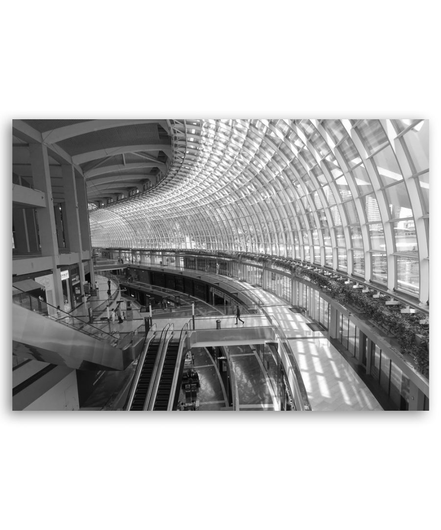 Image for Canvas Print - Curved Glazing - Wall Art Decor