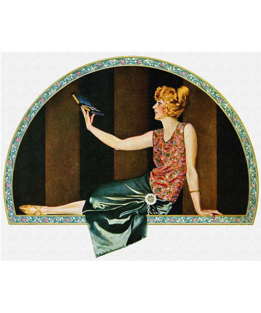 Image for Canvas Print - Community Plate Ad, 1923 - C. Coles Phillips - Wall Art Decor