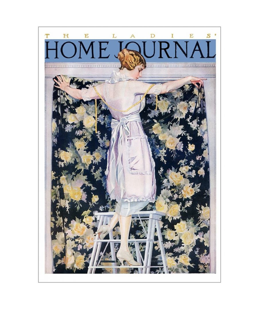Image for Canvas Print - Ladies Home Journal 1921 - C. Coles Phillips - Wall Art Decor