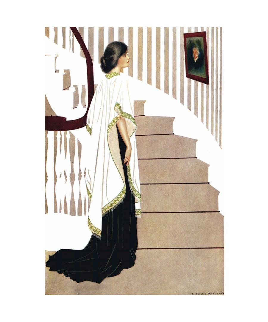 Image for Canvas Print - Portrait of Elsie, 1912 - C. Coles Phillips - Wall Art Decor