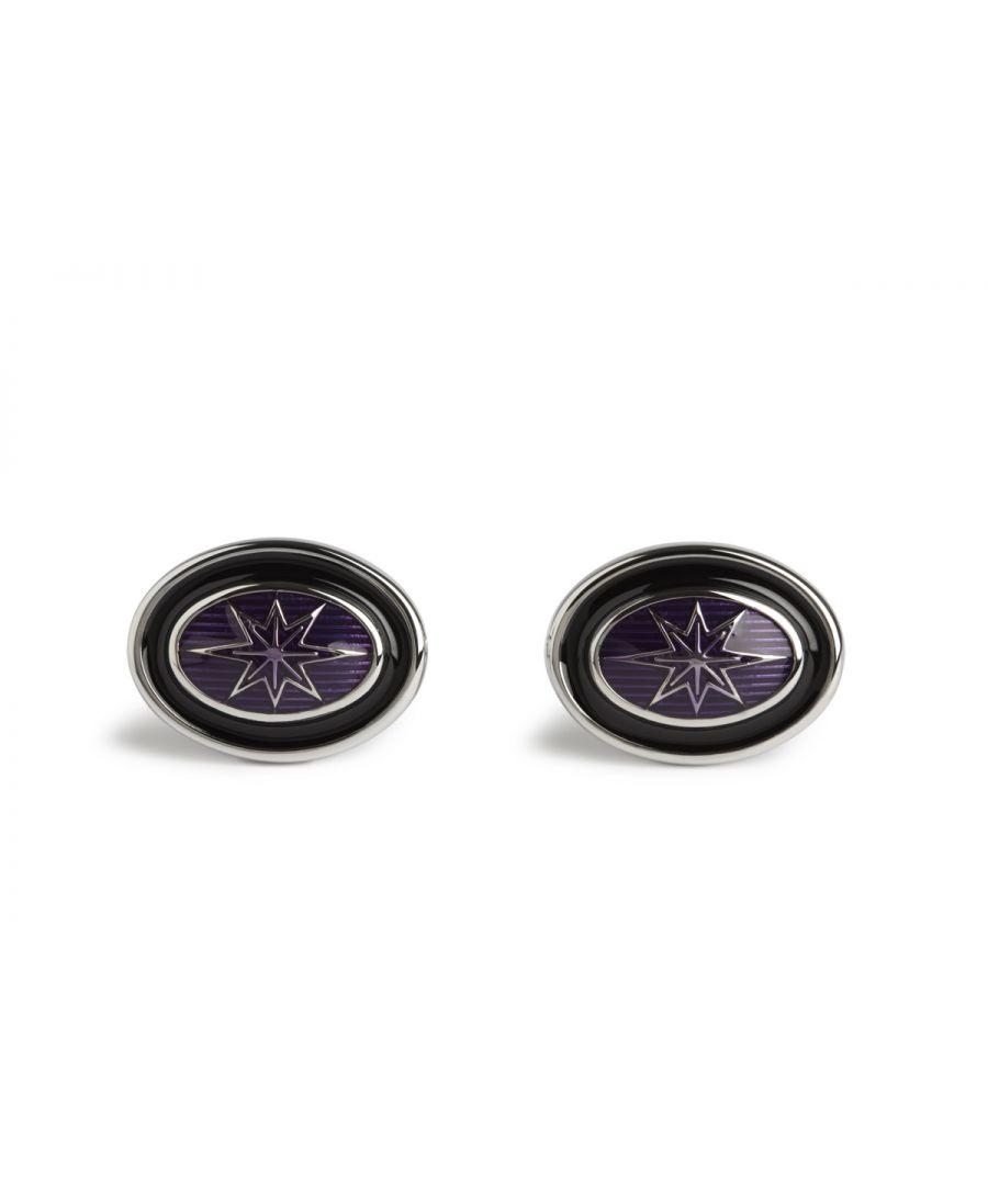 Image for Simon Carter Purple Star Oval