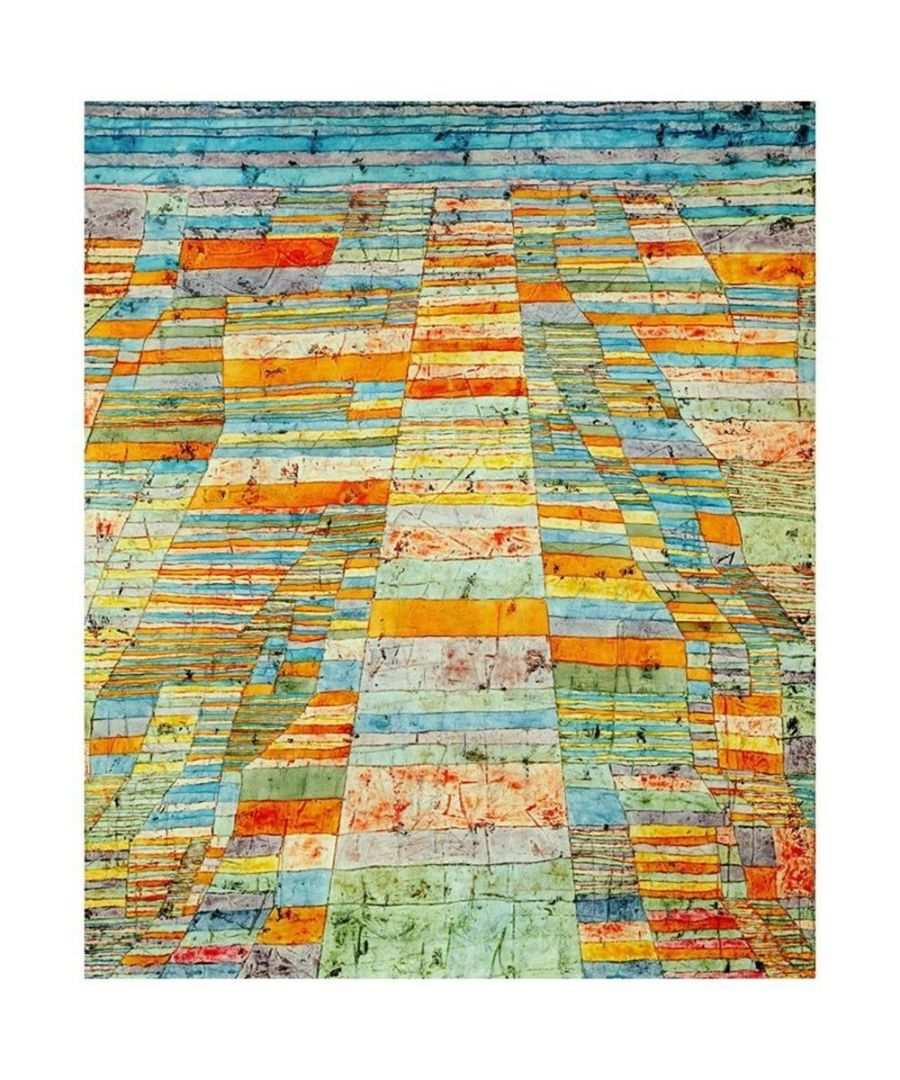 Image for Canvas Print - Highway And Byways - Paul Klee Cm. 50x60