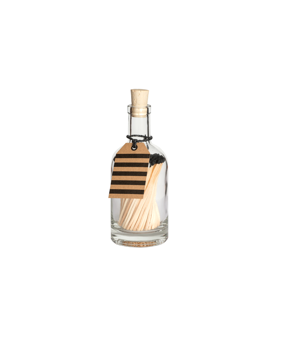 Image for Black Matches In A Bottle