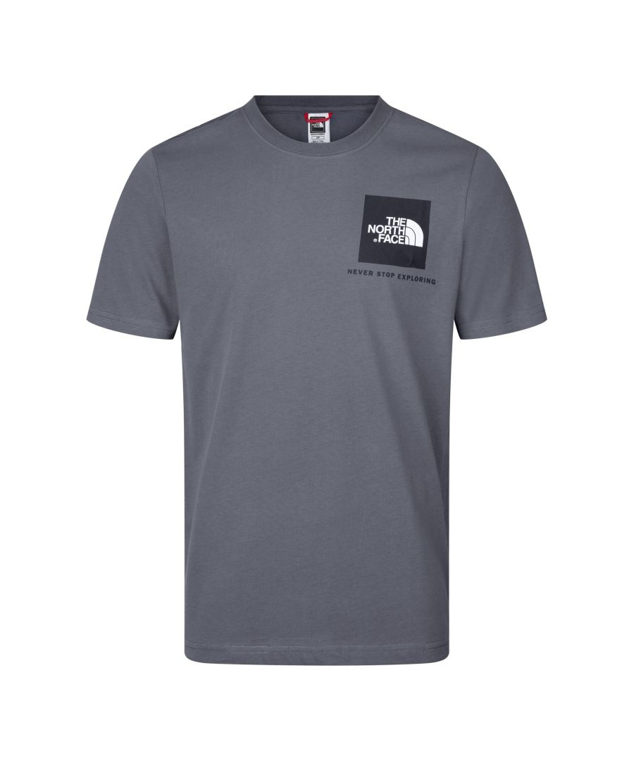 Image for The North Face Men's Finebox Tee, Black