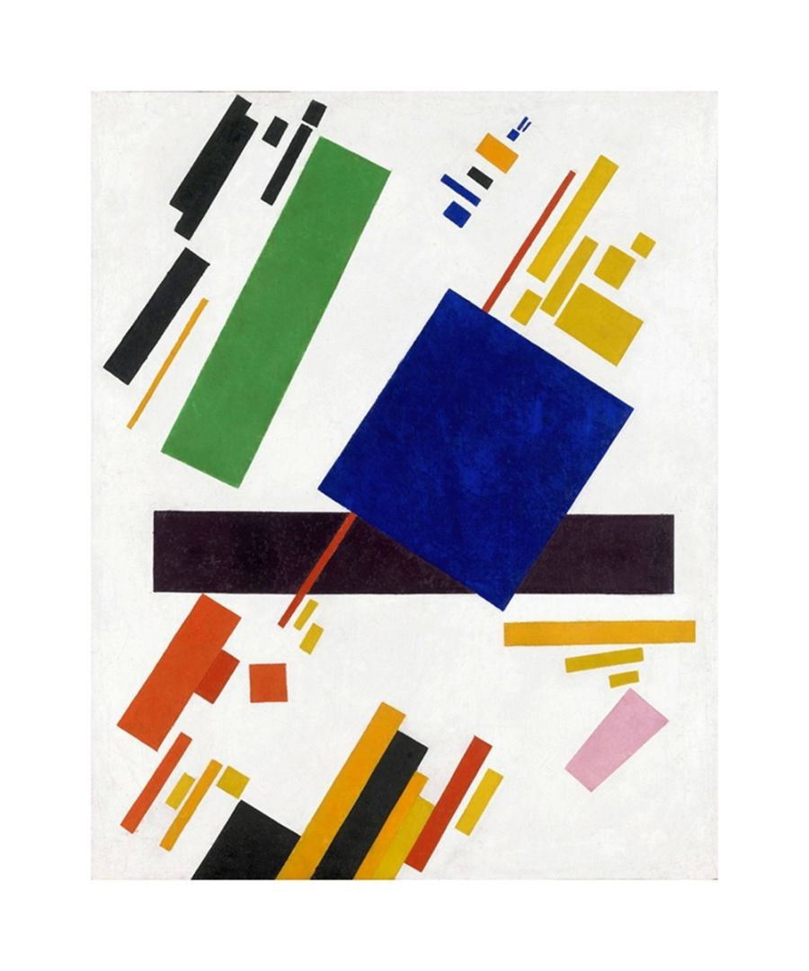 Image for Canvas Print - Suprematist Composition - Kazimir Malevich Cm. 80x100