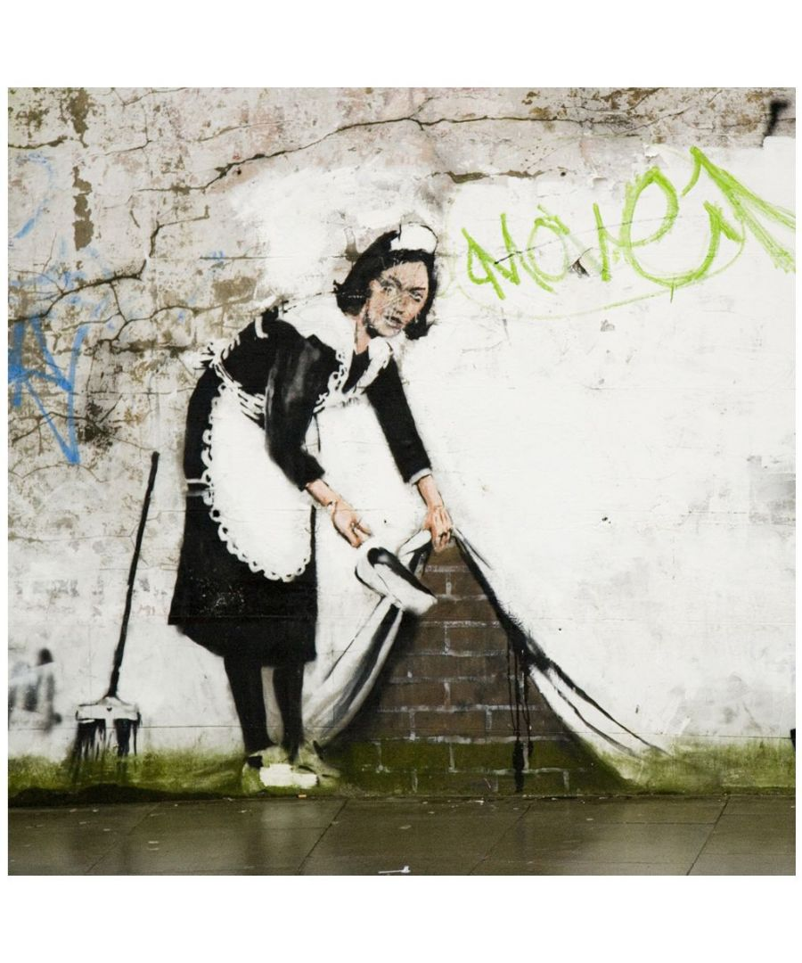 Image for Canvas Print - Sweep it Under the Carpet, Banksy cm. 90x90