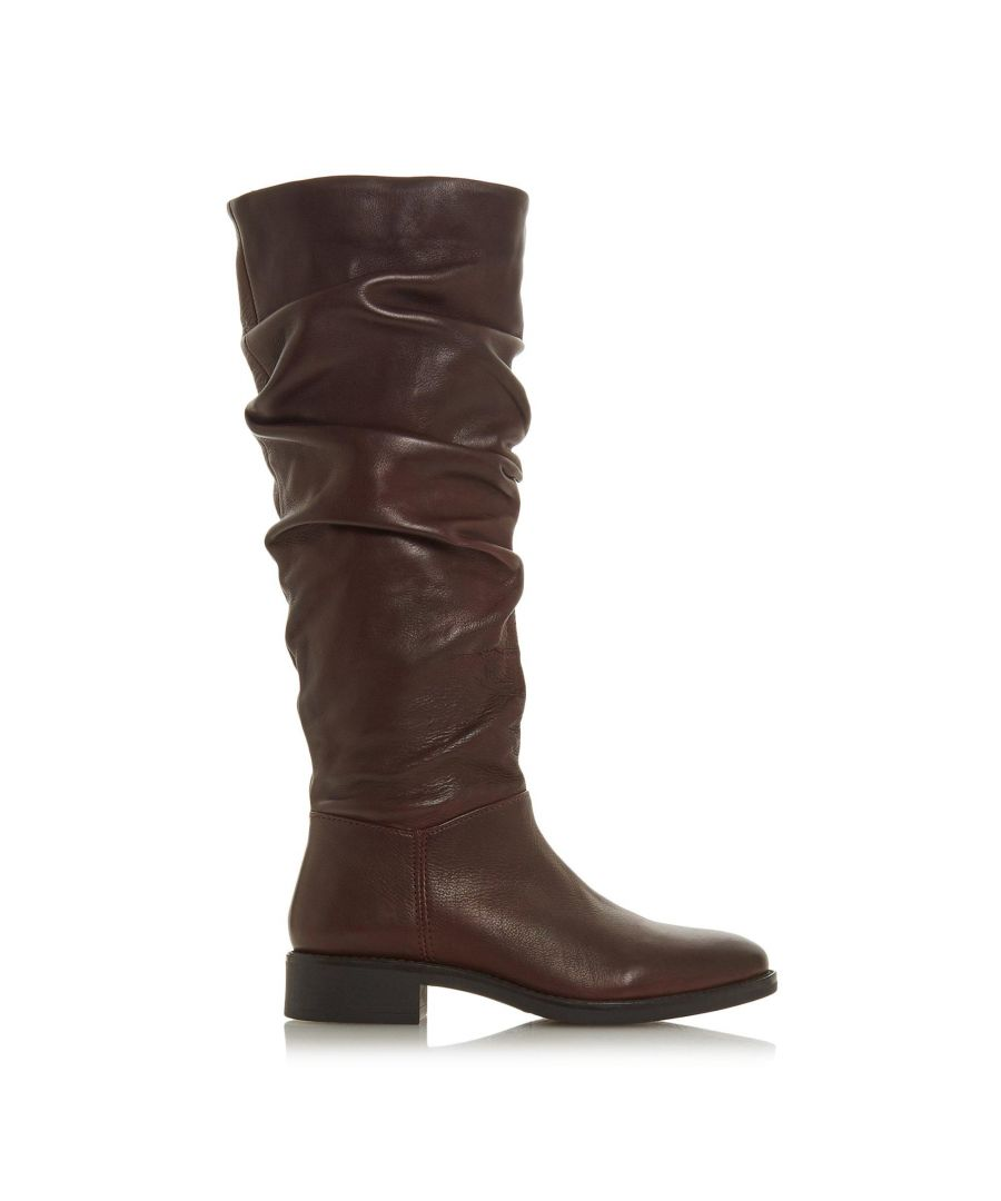 Image for Dune Ladies TABBY Ruched Knee High Boots