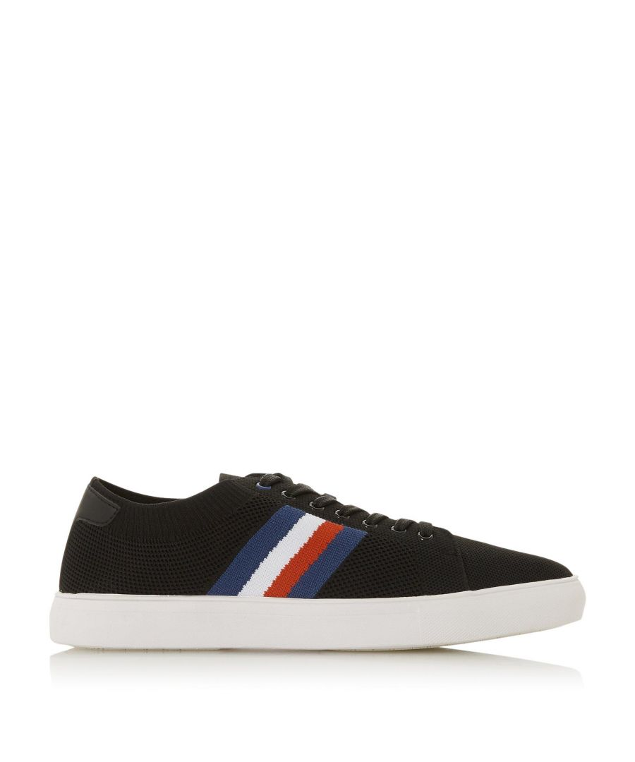 Image for Dune Mens TAI Knitted Stripe Trainer