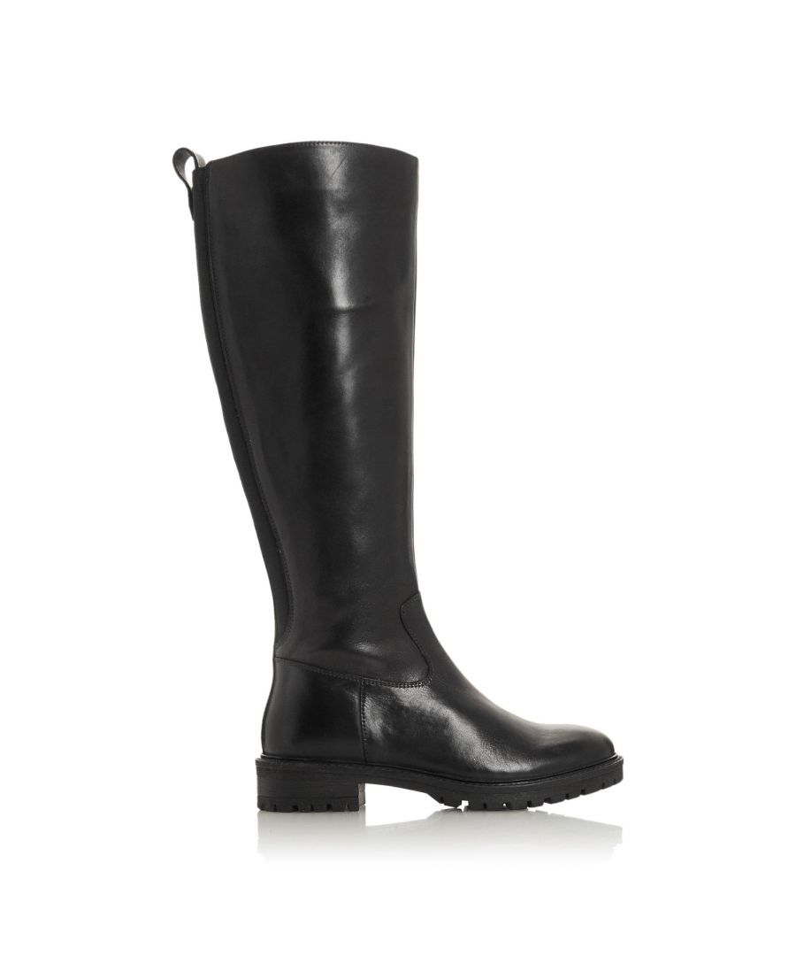 Image for Bertie Ladies TALLOW Knee-High Cleated Sole Boots