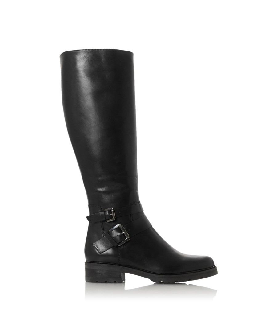 Image for Dune Ladies TAMBIE Double Buckle Knee High Boots