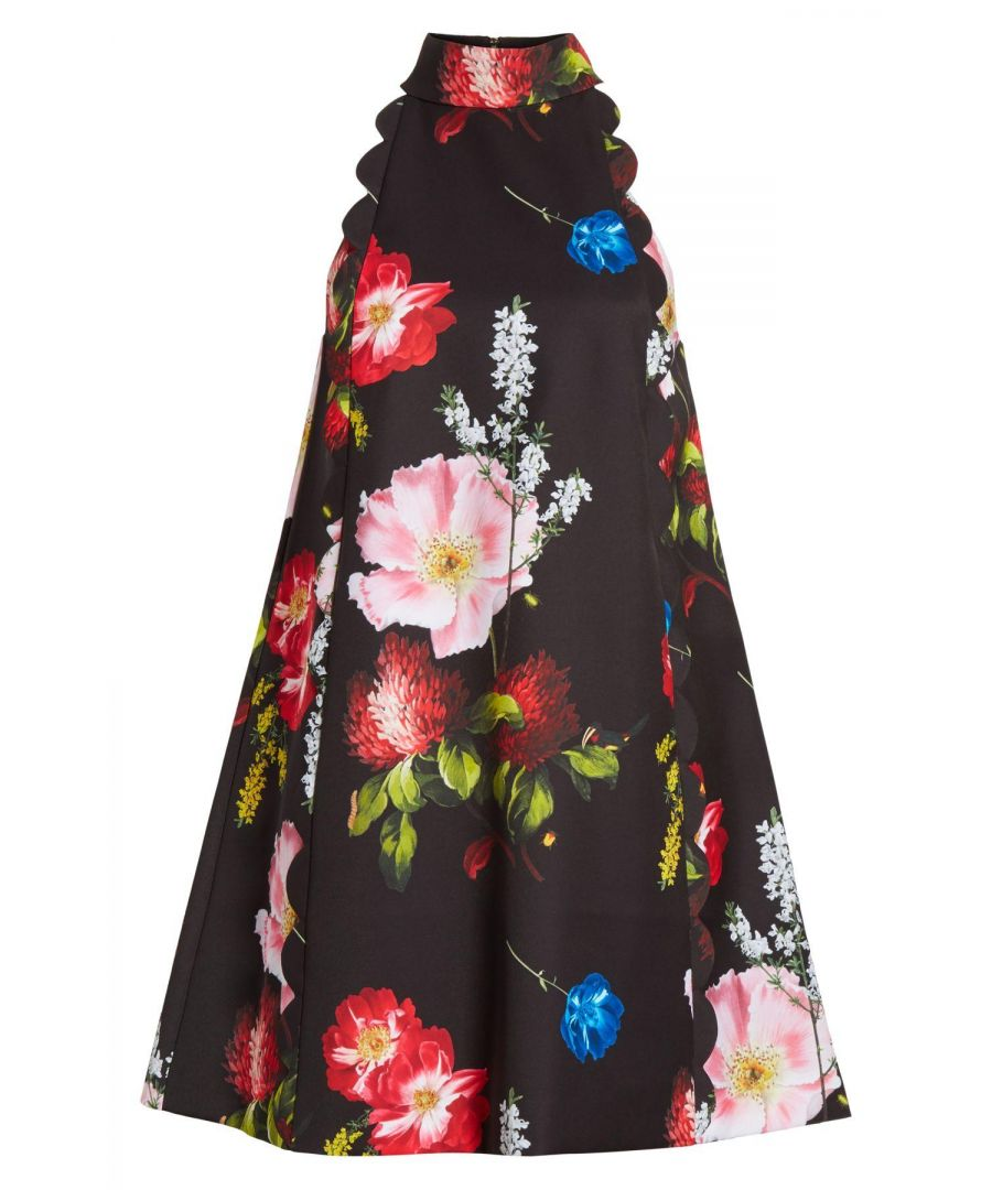 Image for Ted Baker Tanii Berry Sundae Scallop Dress, Black
