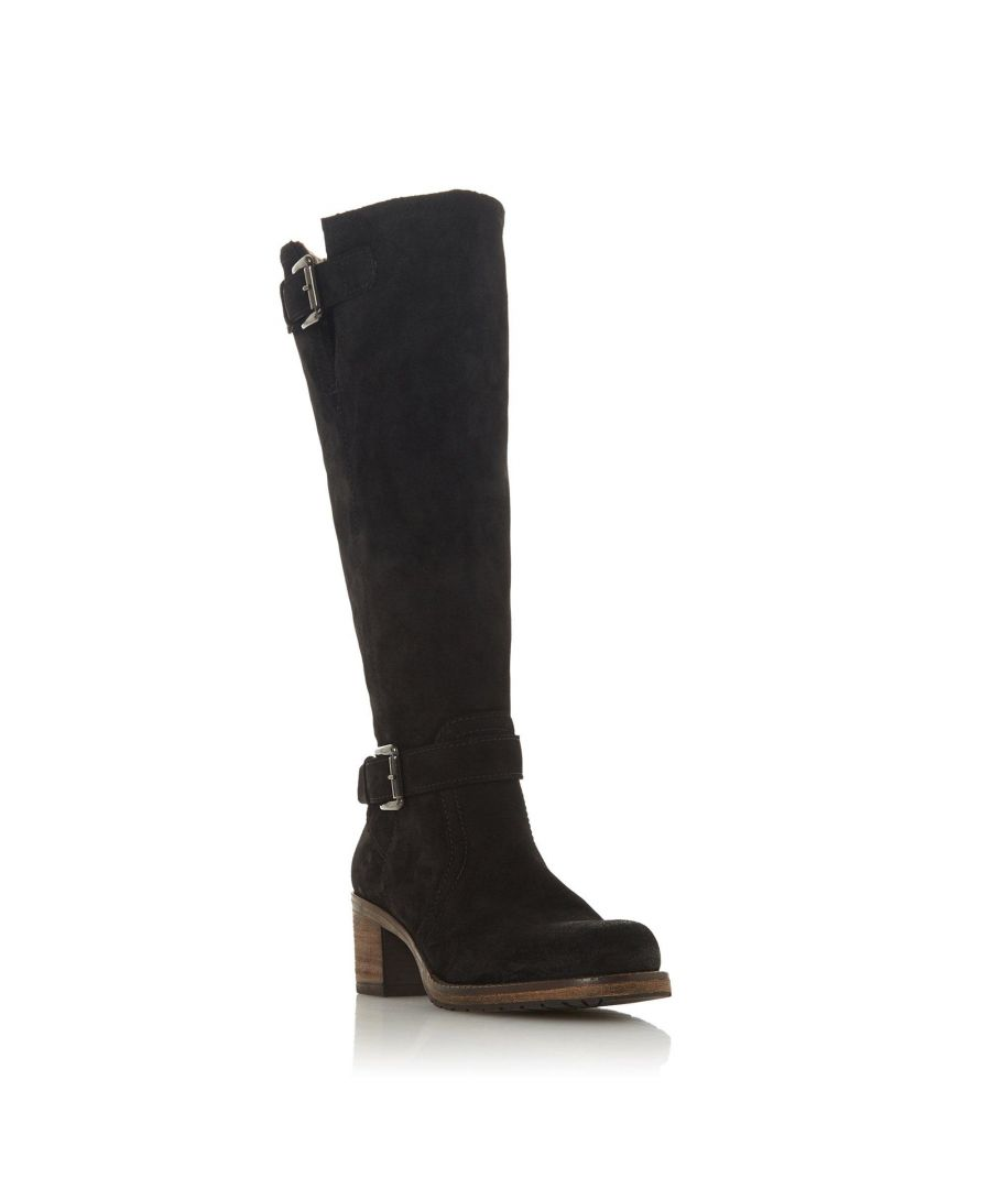 Image for Dune Ladies TANSEY Block Heel Knee High Boot