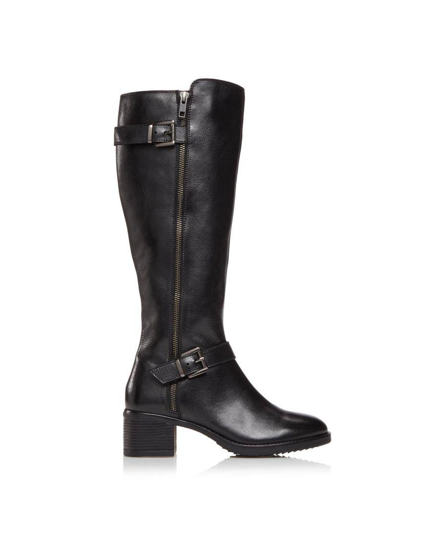 Image for Dune Ladies TARROW XX Buckle Knee High Boots