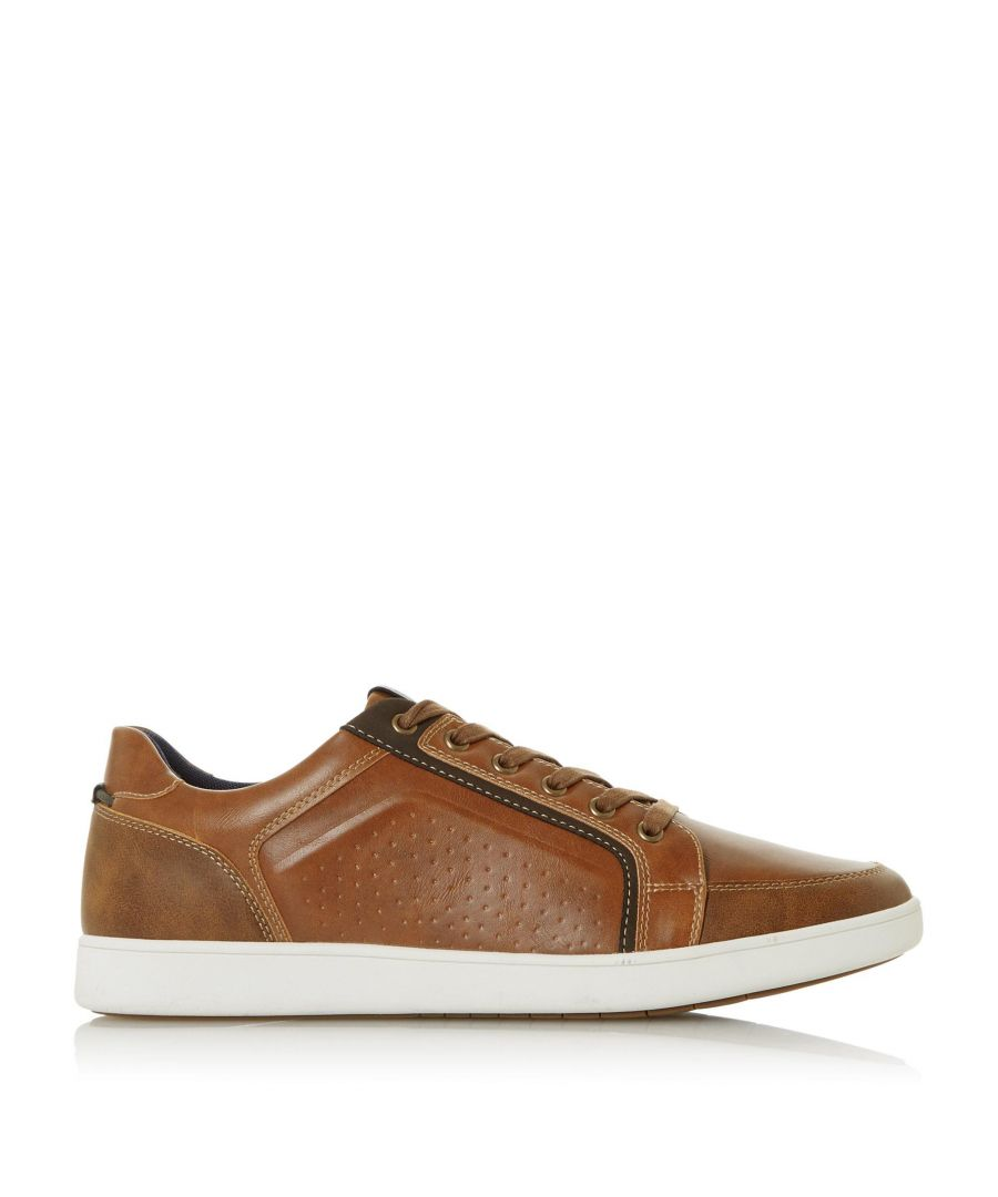Image for Dune Mens TATOS Panel Detail Trainers