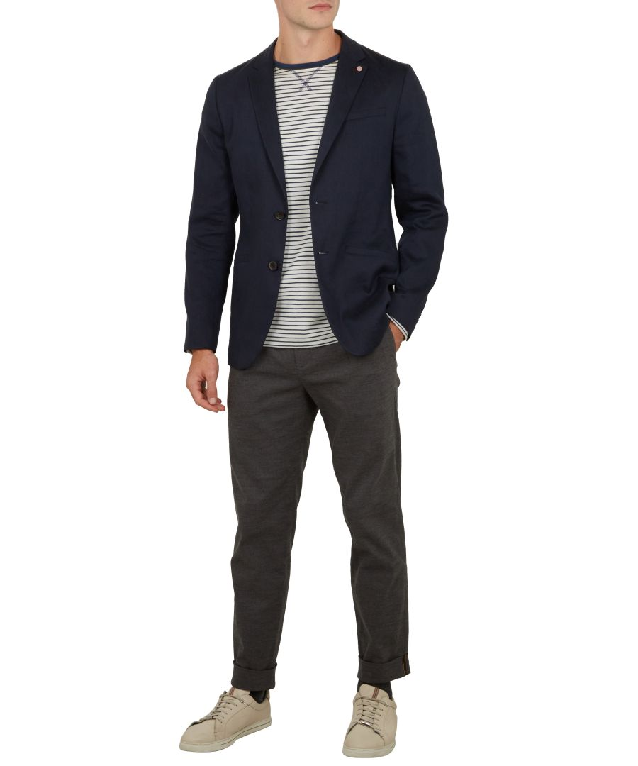 Image for Ted Baker Bluechi Linen Jacket, Navy