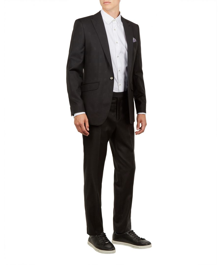 Image for Ted Baker Glitzij Pashion Lurex Check Jacket, Black