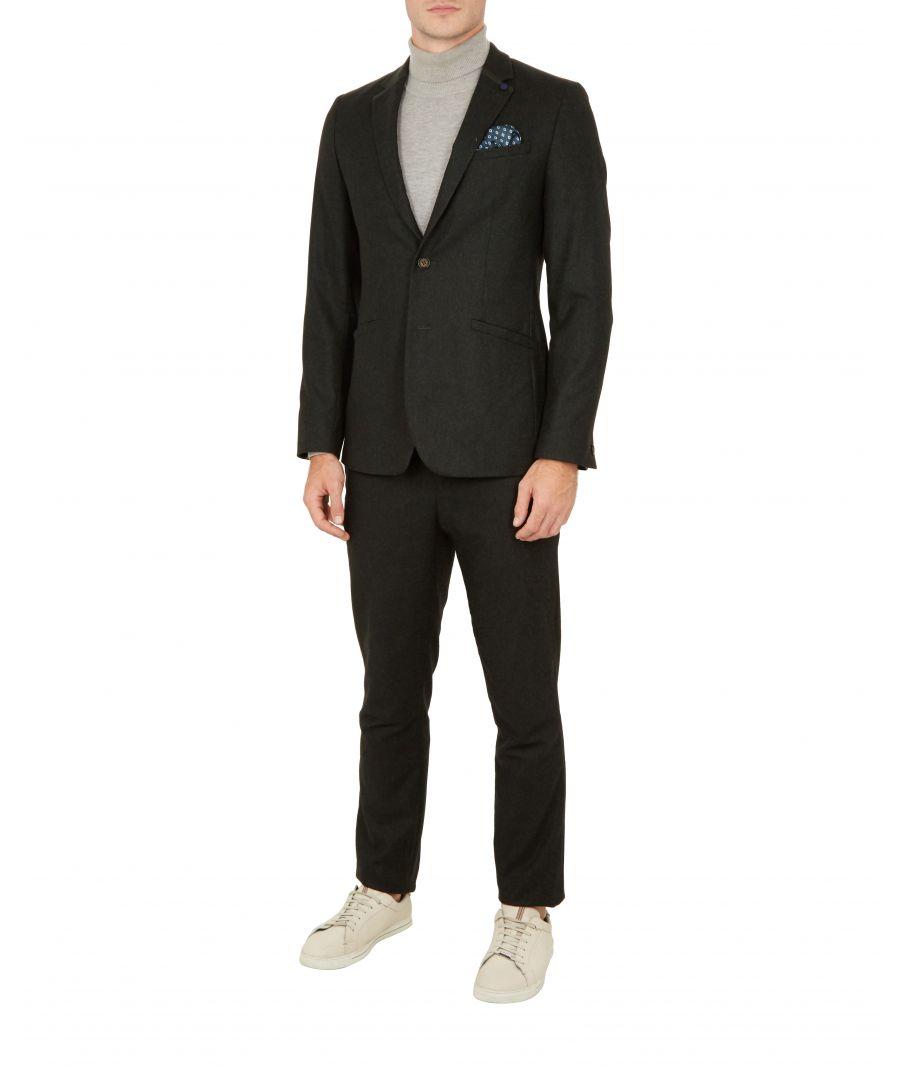 Image for Ted Baker Matza Core Wool Jacket, Dark Green