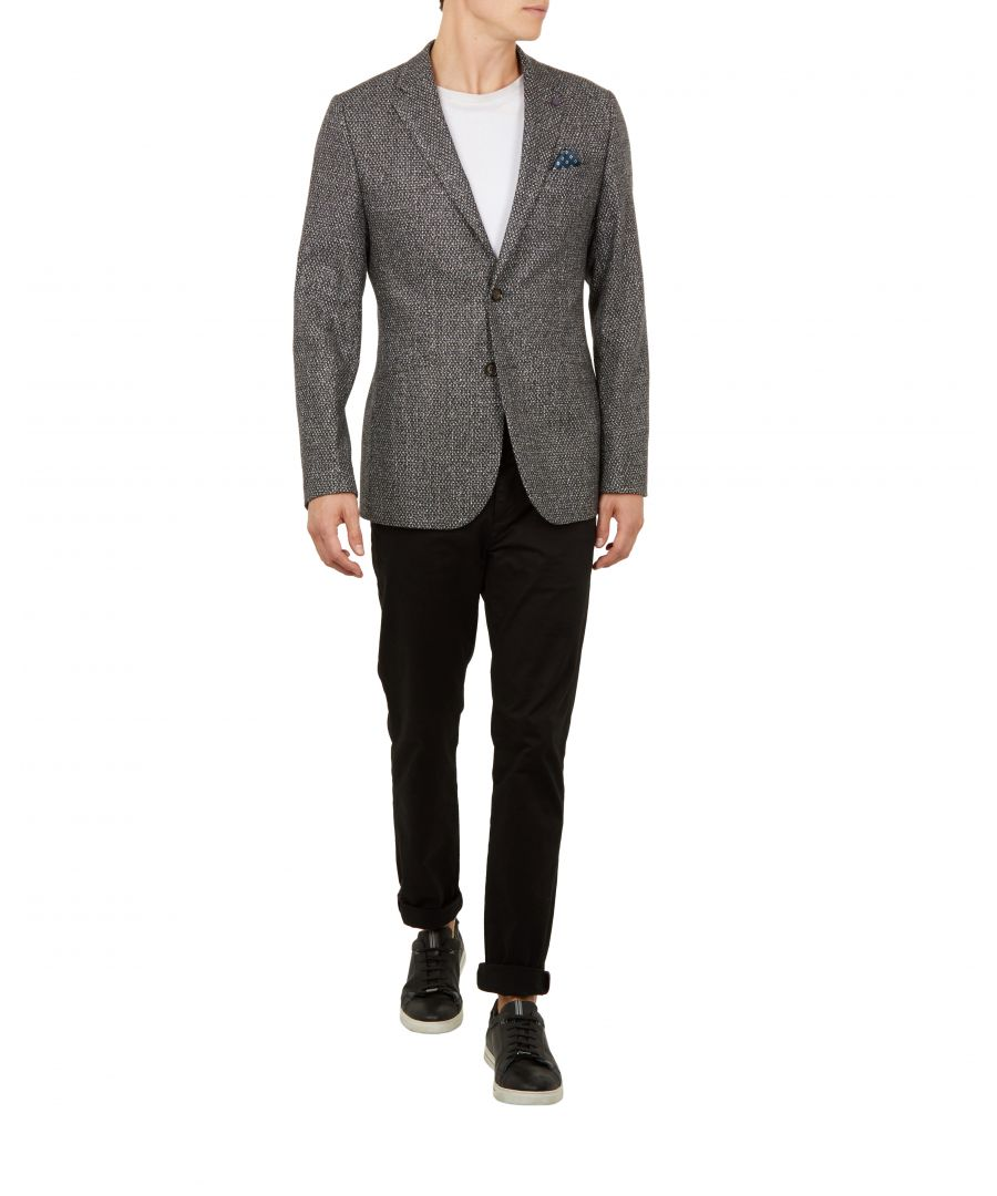 Image for Ted Baker Pickl Boucle Jacket, Grey