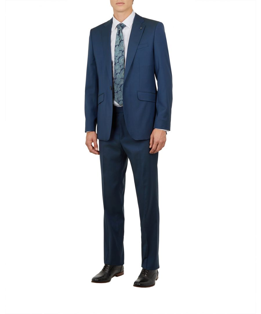 Image for Ted Baker Sylvaj Pashion Plain Suit Jacket, Dark Blue