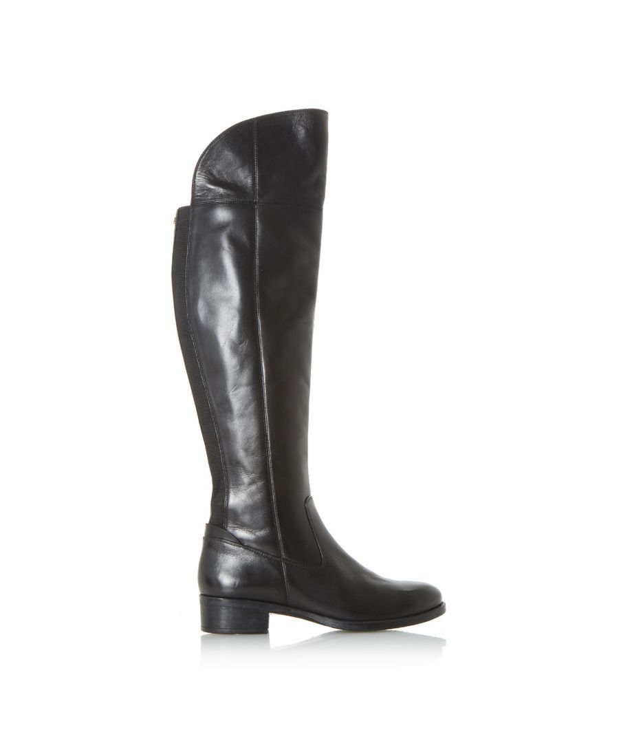Image for Dune Ladies TEIGEN Back Stretch Panel Over The Knee Boots