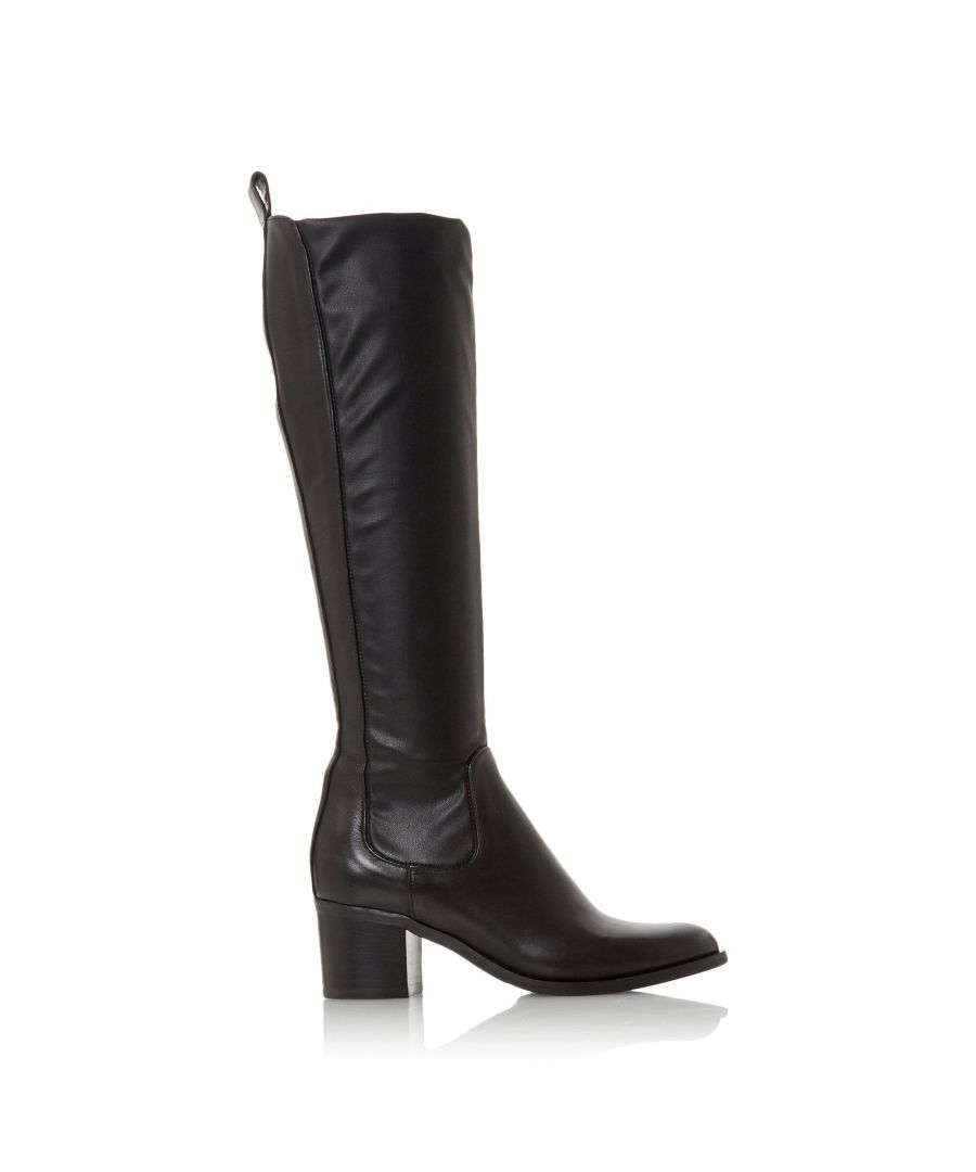 Image for Dune Ladies TELLING Mid Block Heel Knee High Boots