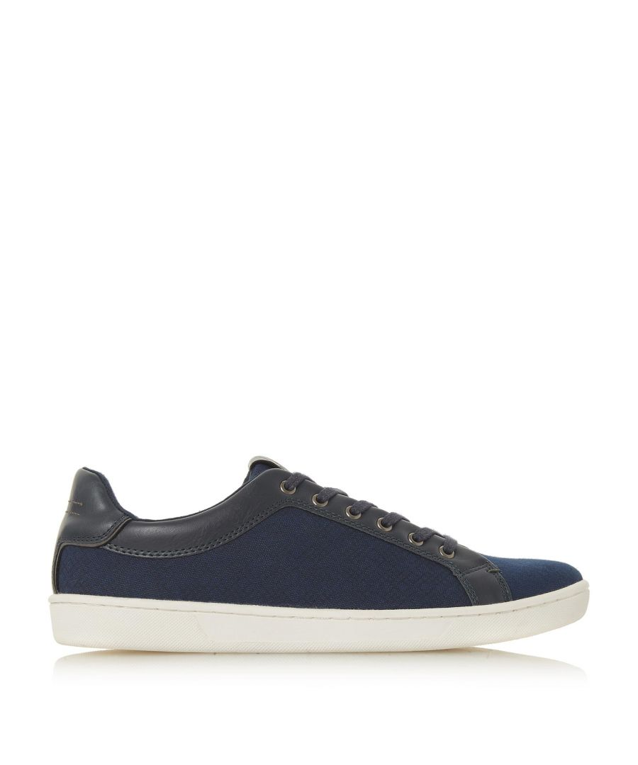 Image for Dune Mens TEVEZ Fabric Upper Trainers