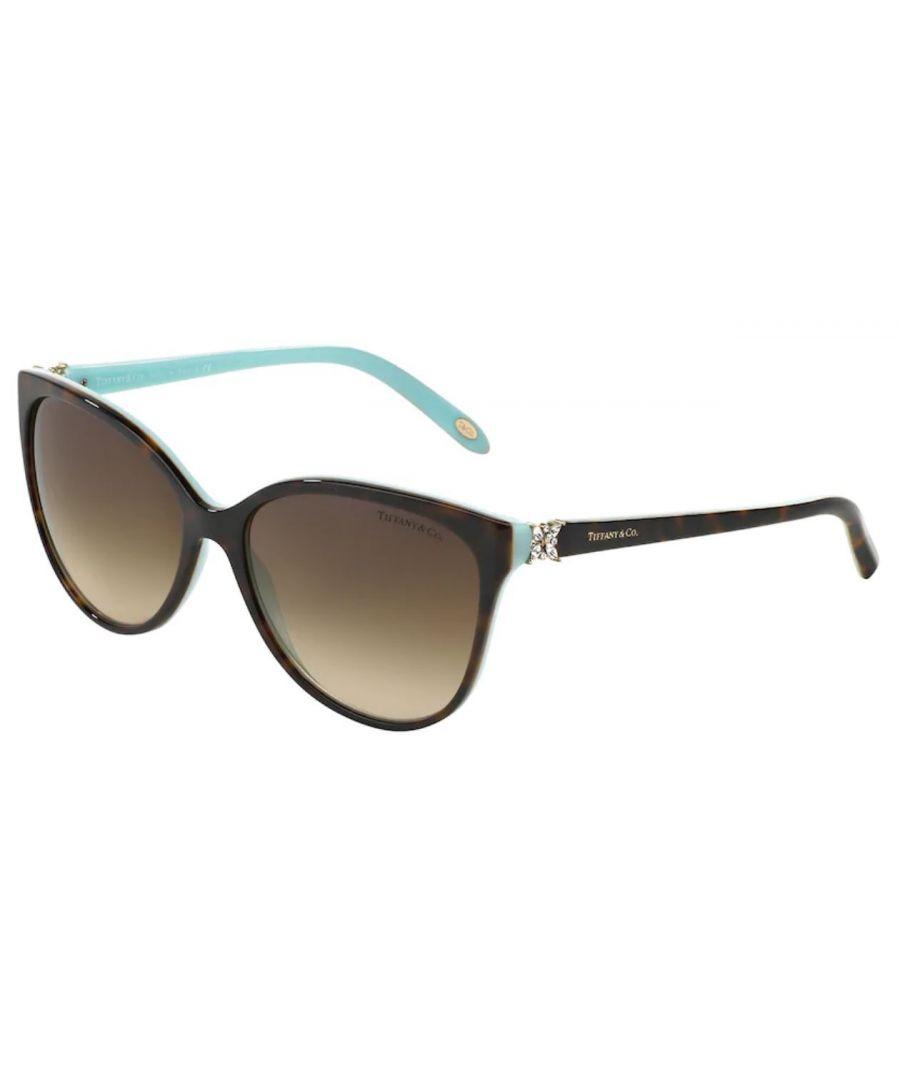 Image for Tiffany sunglasses in Havanna on Tiffany blue frame