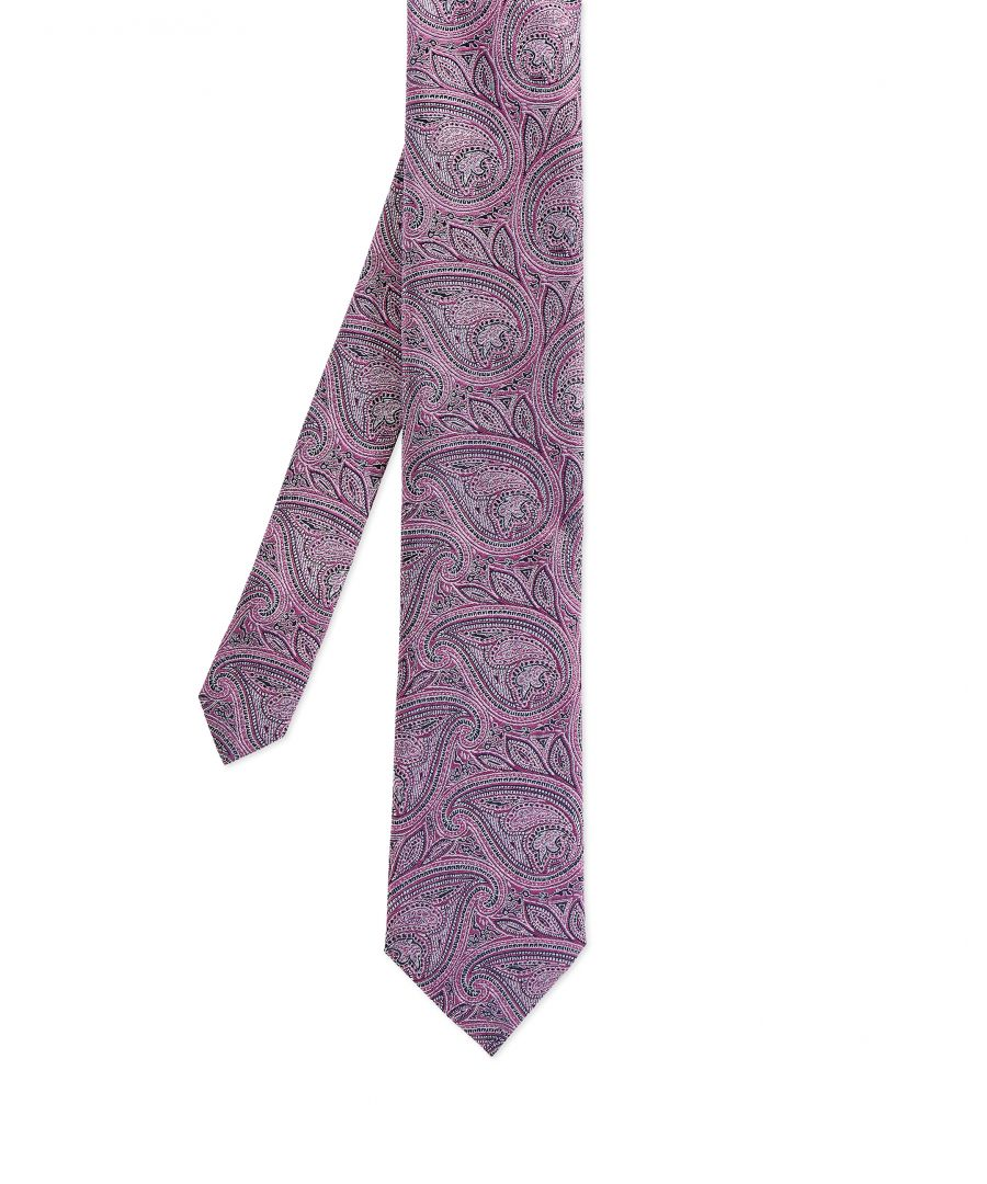 Image for Ted Baker Curse Paisley 7Cm Tie, Pink