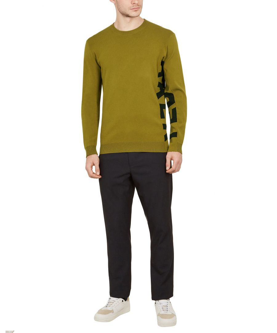 Image for Ted Baker Jumpar Limited Edition Logo Jumper, Lime