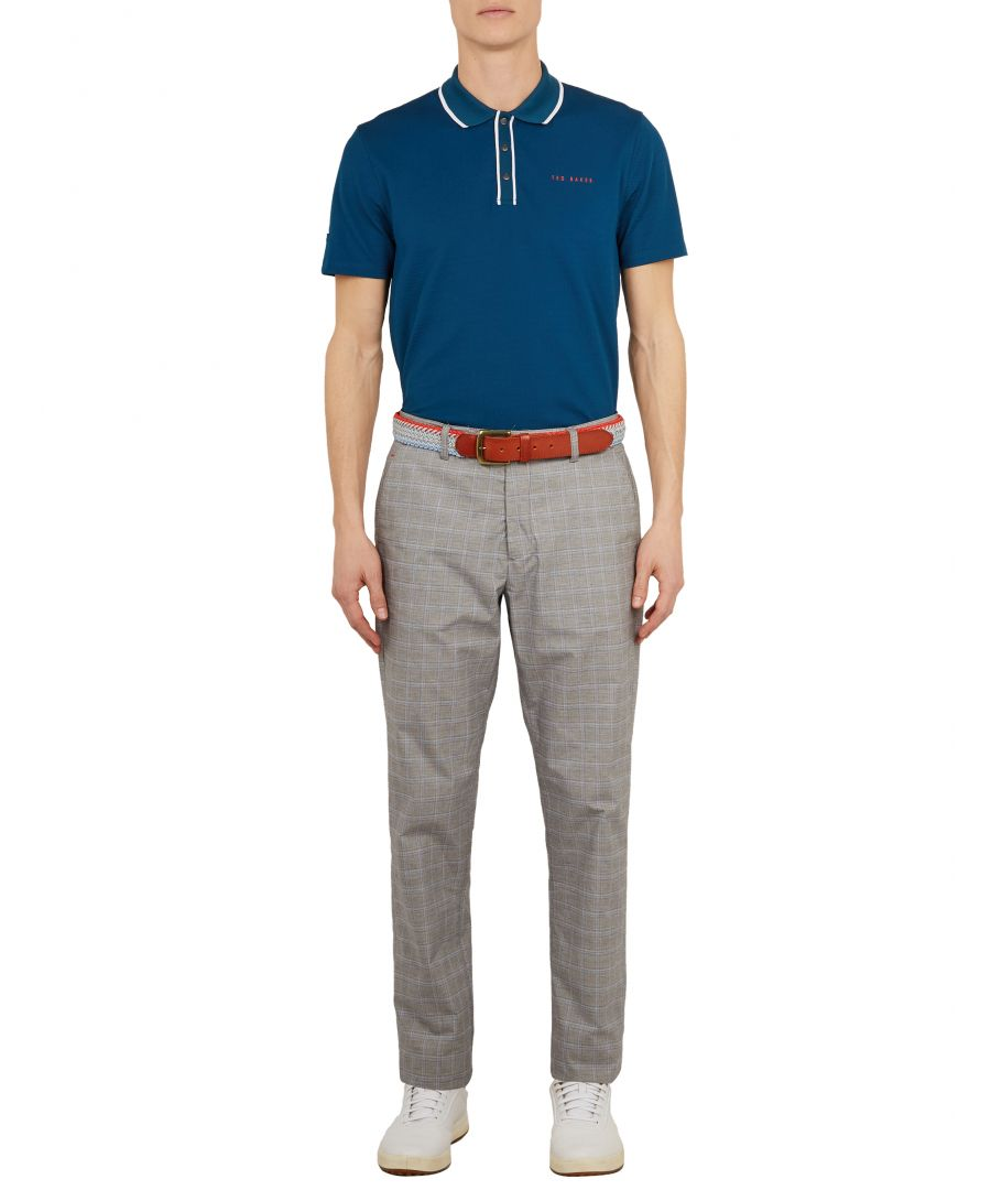 Image for Ted Baker Snoopd Golf Checked Trouser, Grey