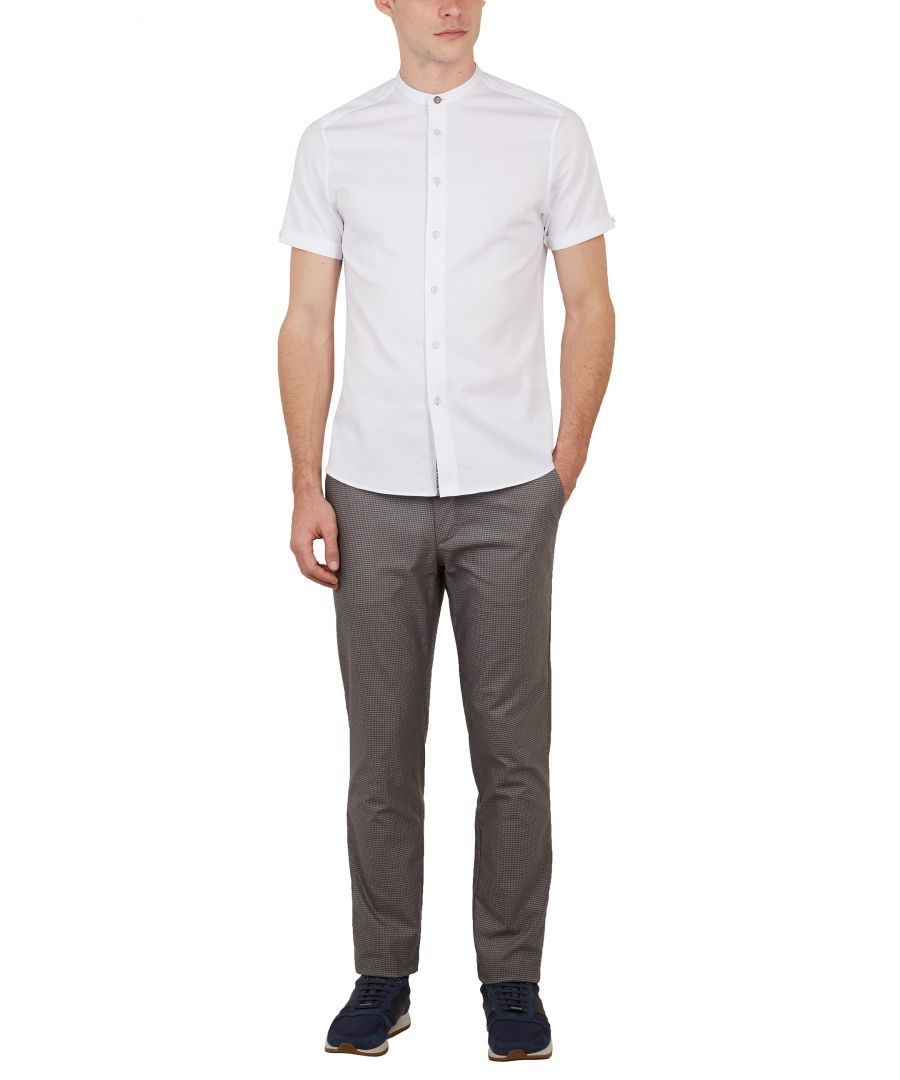 Image for Ted Baker Stelim Slim Fit Trouser, Grey