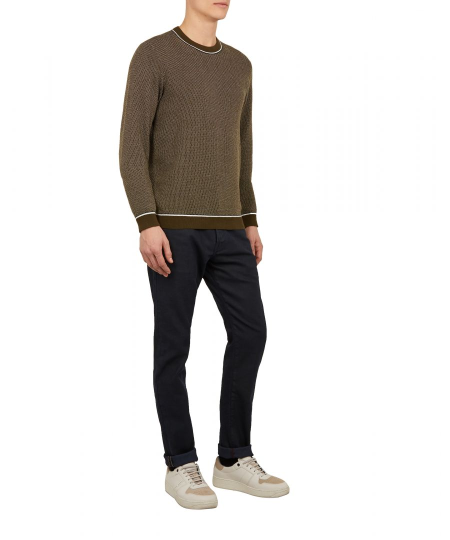 Image for Ted Baker Tarsee Tapered Fit Jeans, Navy