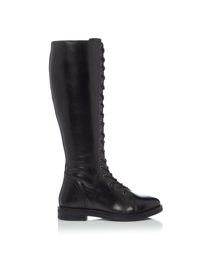 Image for Bertie Ladies THIMBLE Lace Up Knee High Boots