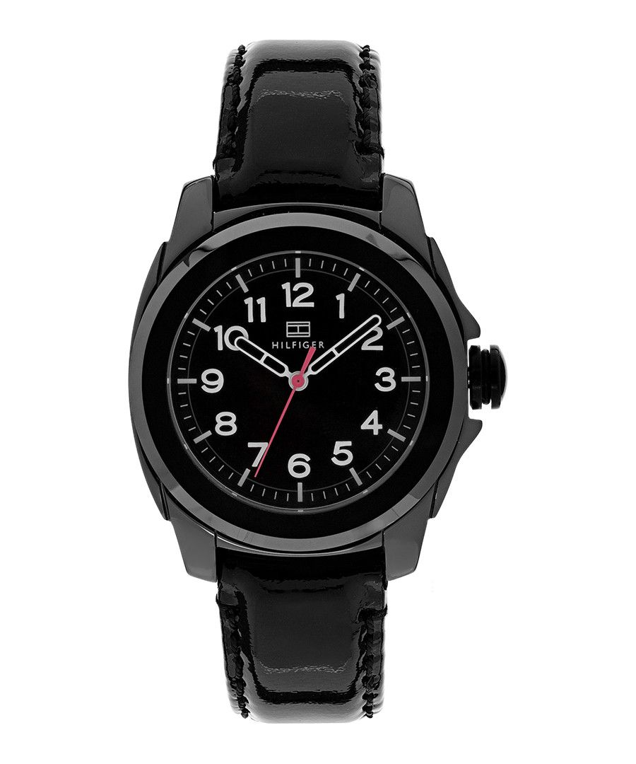 Image for Tommy Hilfiger 1781181 Sport Black Leather Ceramic Watch