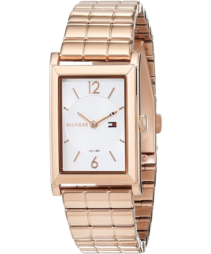 Image for Women's Tommy Hilfiger Josie Rose Gold Tone Steel Band Watch
