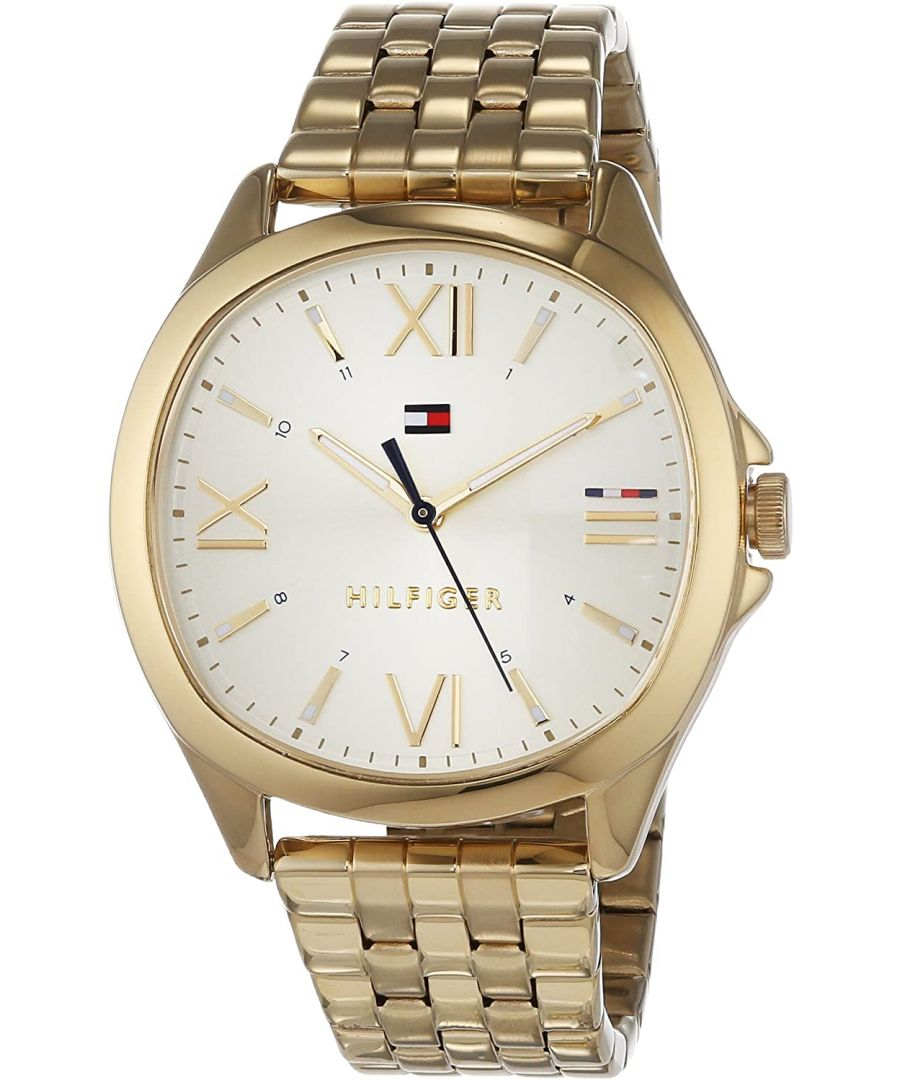 Image for Tommy Hilfiger Ladies' Jade Gold Plated Watch