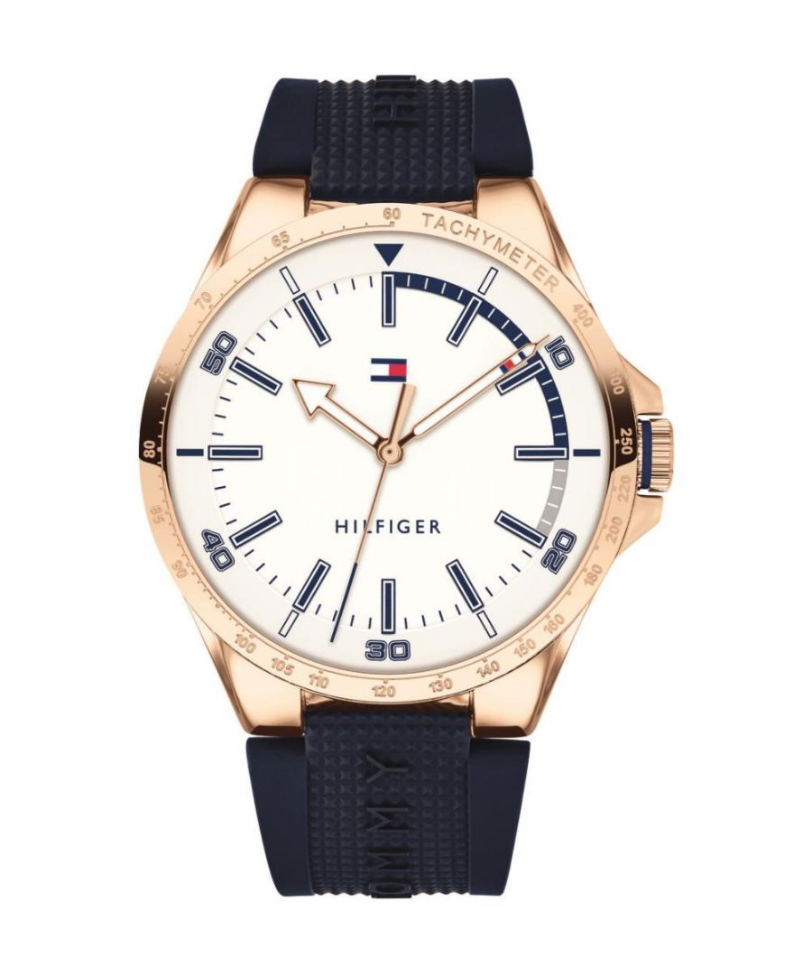 Image for Tommy Hilfiger Mens Analogue Classic Quartz Watch with Silicone Strap