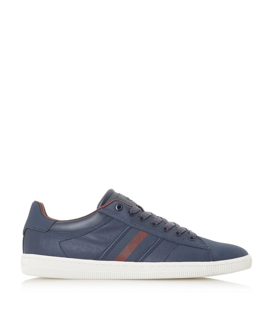 Image for Dune Mens TIKO Stripe Trim Lace Up Trainers
