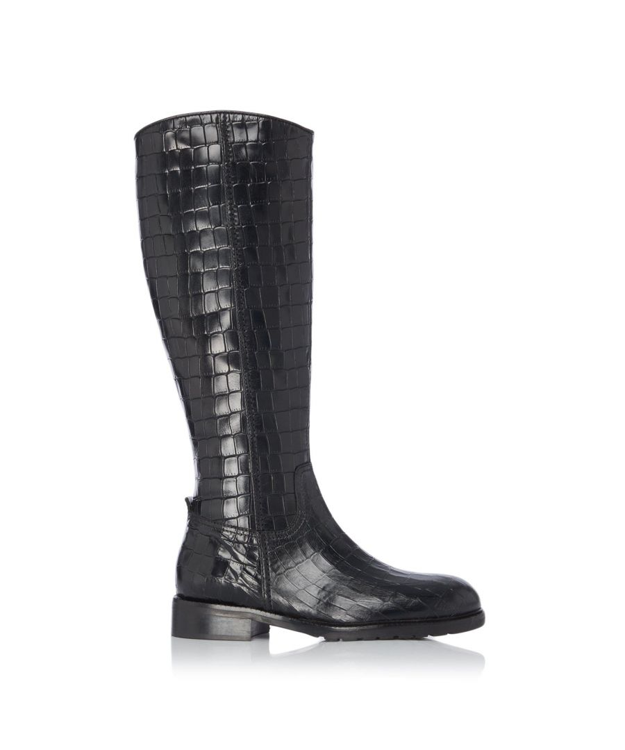 Image for Dune Ladies TILLSIE Knee High Zip Up Riding Boots