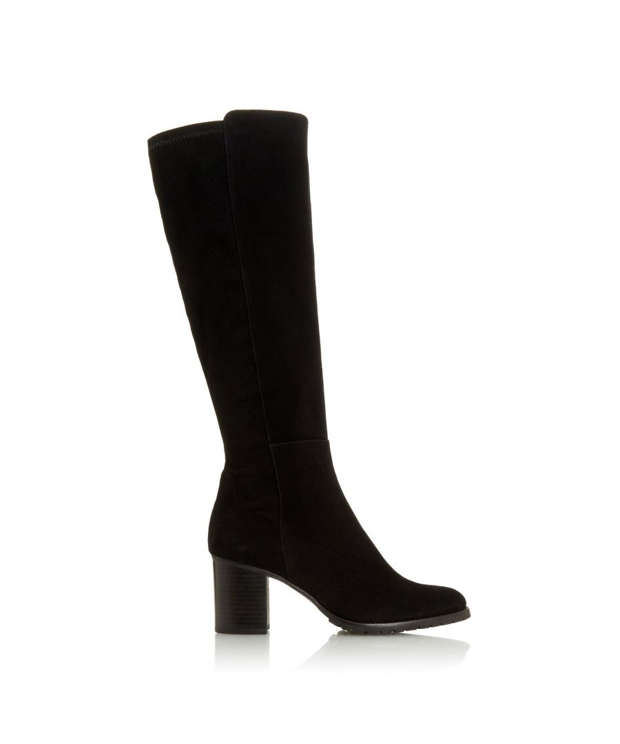 Image for Dune Ladies TITANEUM Knee High Boots