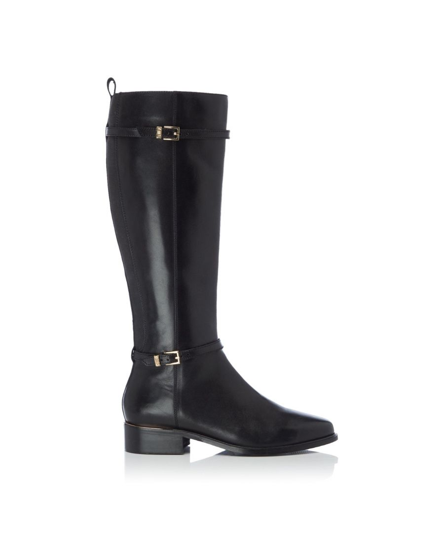Image for Dune Ladies TOP Double Buckle Knee High Boots