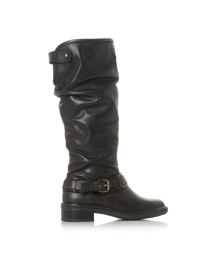 Image for Dune Ladies TORLIE Ruched Knee High Boots