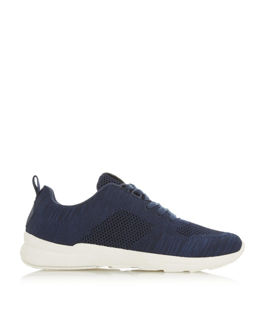 Image for Dune Mens TORRES Knitted Upper Lace-Up Trainers