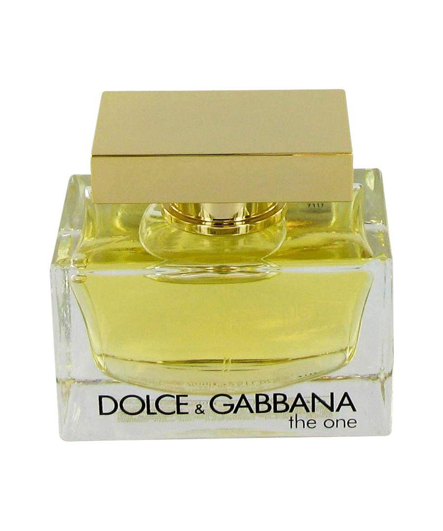 Image for The One Eau De Parfum Spray (Tester) By Dolce & Gabbana 75 ml