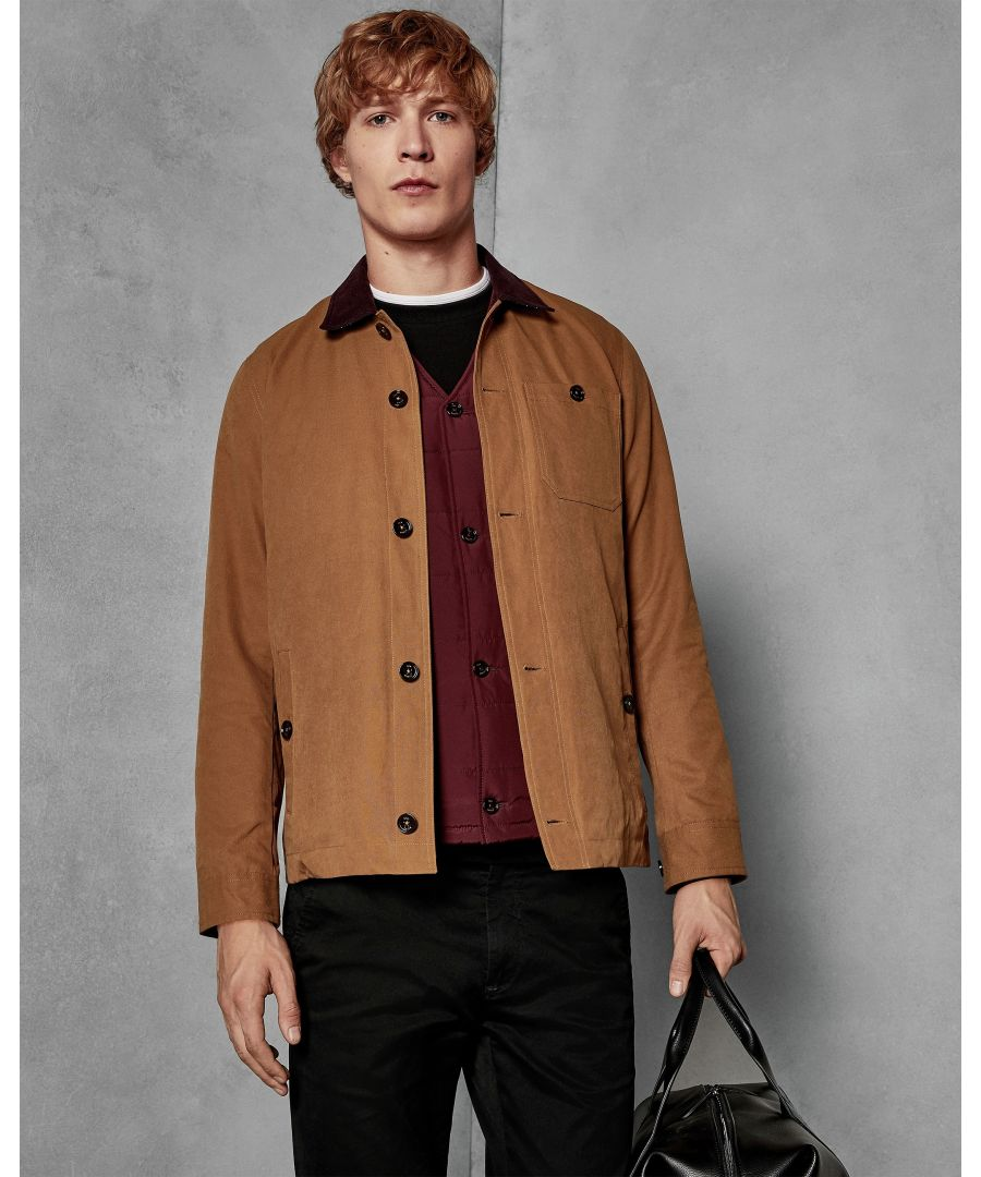 Image for Ted Baker Towa Workwear Jacket With Inner, Camel