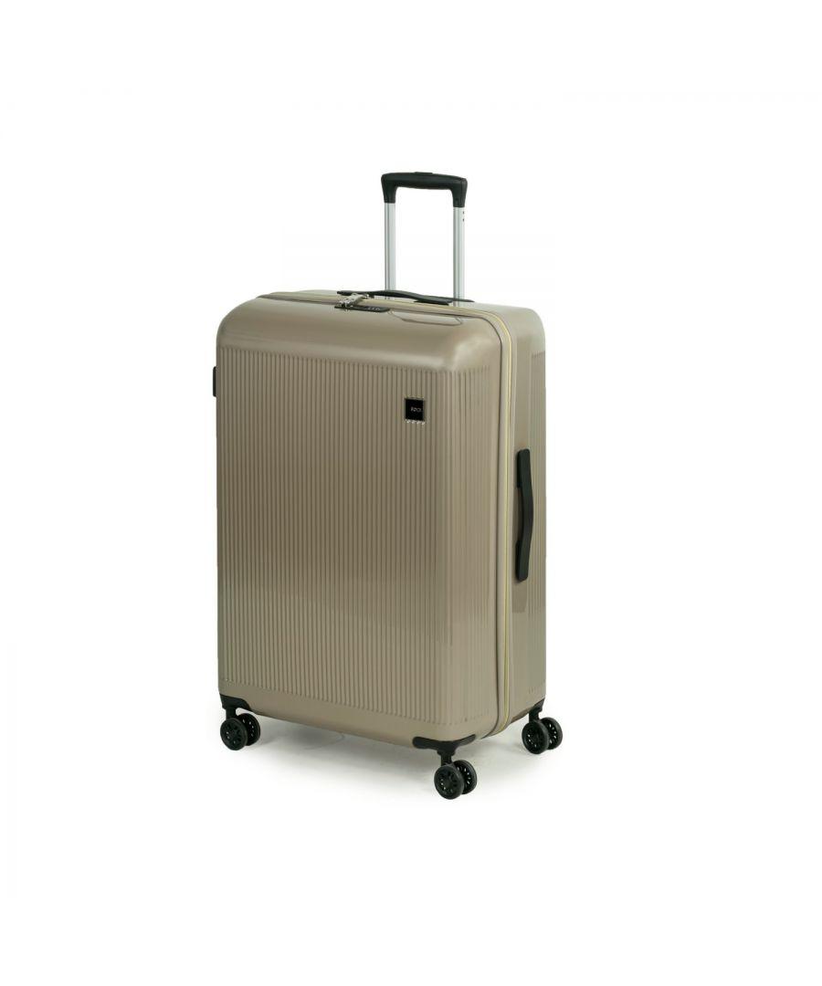 Image for Windsor 77cm Hardshell 8 Wheel Spinner Suitcase Champagne