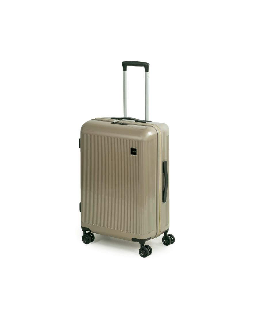 Image for Windsor 67cm Hardshell 8 Wheel Spinner Suitcase Champagne