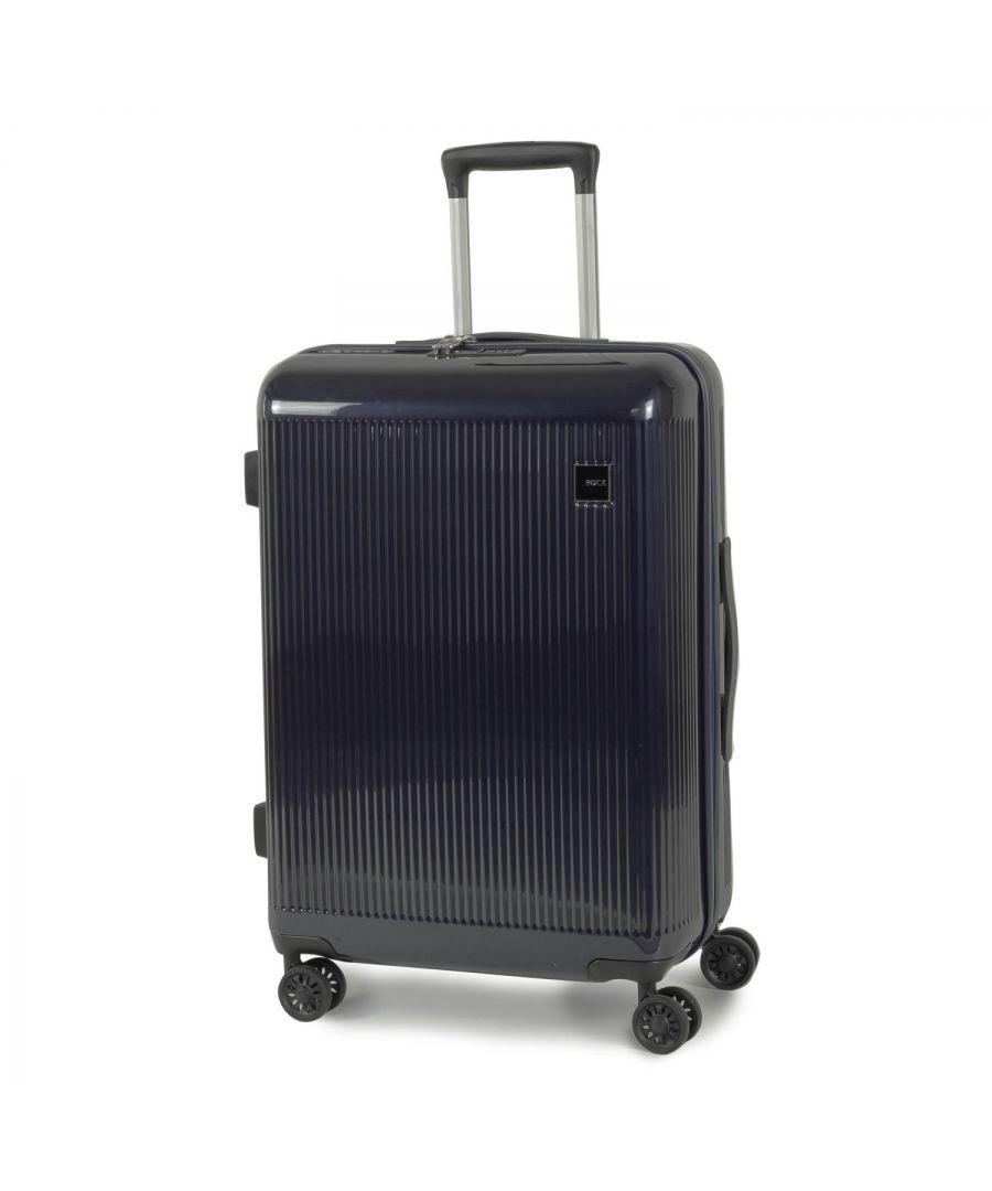 Image for Windsor 67cm Hardshell 8 Wheel Spinner Suitcase Navy