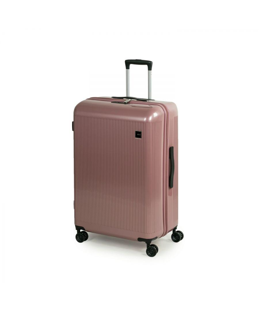 Image for Windsor 77cm Hardshell 8 Wheel Spinner Suitcase Rose Pink